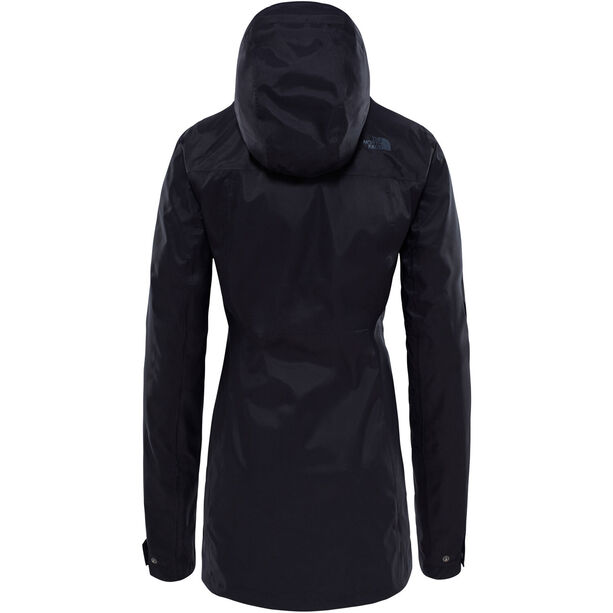 The North Face City Midi Trenchcoat Damen black