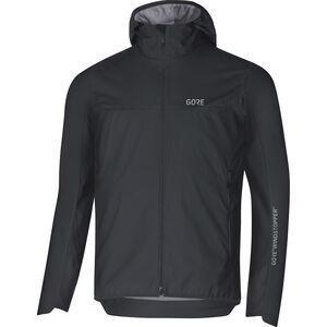 GORE WEAR H5 Windstopper Insulated Hooded Jacket Herren black/terra grey black/terra grey