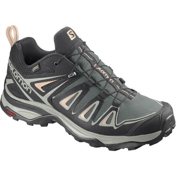 Salomon X Ultra 3 GTX Schuhe Damen balsam green/mineral gray/bellini