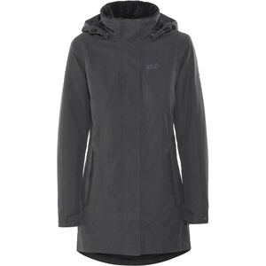 Jack Wolfskin Madison Avenue Hardshell Coat Damen phantom phantom