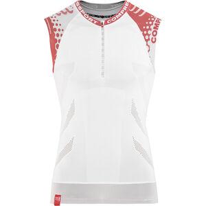 Compressport Trail Running Shirt Tank white white