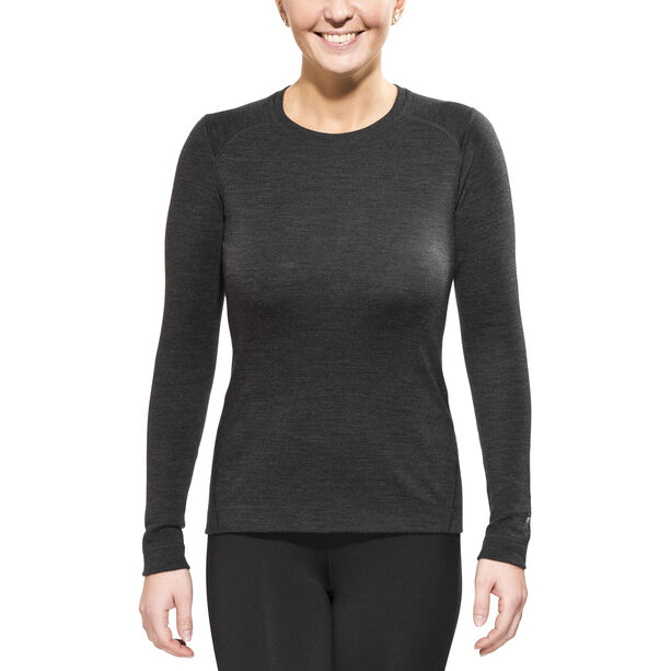 Smartwool Merino 250 Baselayer Crew Shirt Damen charcoal heather