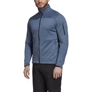 adidas TERREX Stockhorn Fleece Jacket Herren tech ink tech ink
