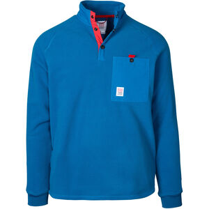 Topo Designs Mountain Fleecejacke Herren blue blue