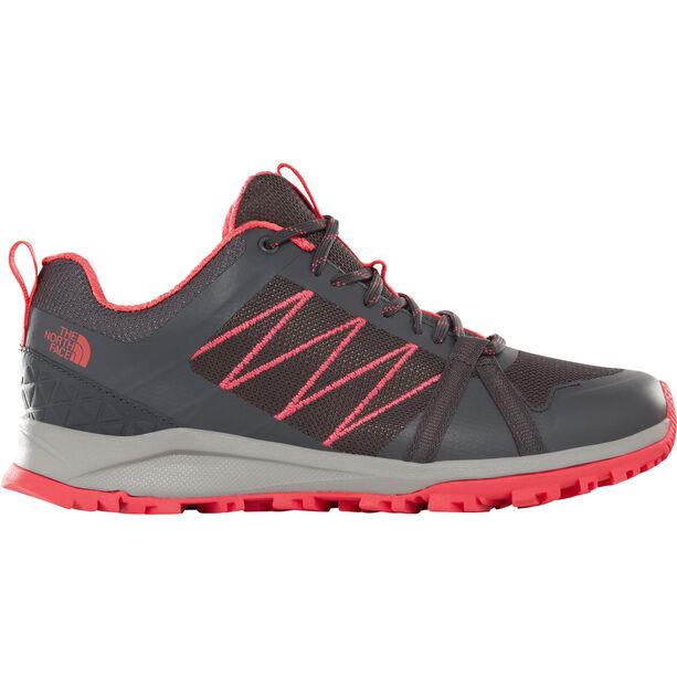 The North Face Litewave Fastpack II Schuhe Damen ebony grey/atomic pink