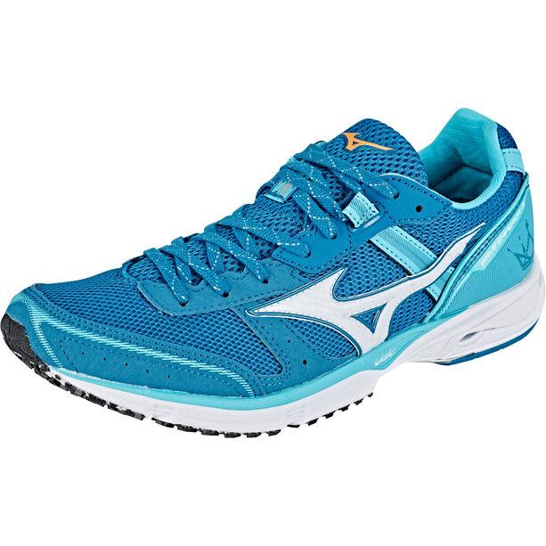 Mizuno Wave Emperor 3 Shoes Damen blue curacao/white/blue sapphire