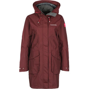 Didriksons 1913 Thelma Parka Damen wine red wine red