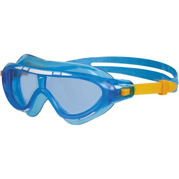speedo Biofuse Rift Goggles Kinder blue/orange
