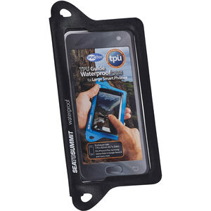 Sea to Summit TPU Guide Waterproof Case for XL Smartphones black black