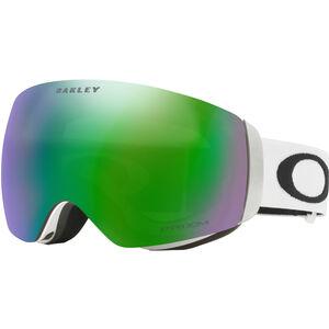 Oakley Flight Deck XM Snow Goggles Damen matte white/w prizm jade iridium matte white/w prizm jade iridium