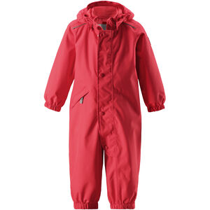 Reima Fudge Overall Kinder coral red coral red