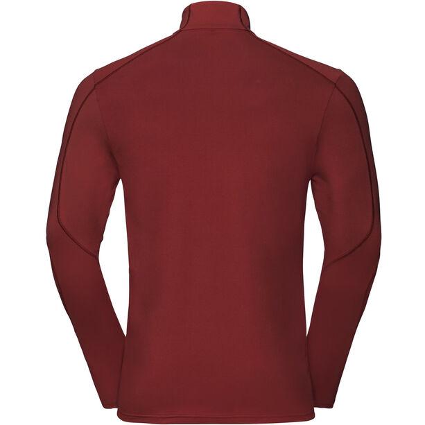 Odlo Sillian L/S Stand up Collar 1/2 Zip Men syrah
