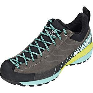 Scarpa Mescalito Shoes Damen titanium/green blue titanium/green blue