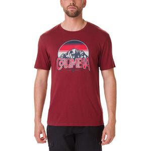 Columbia Basin Butte Kurzarm Graphic T-Shirt Herren red jasper/branded sunshade red jasper/branded sunshade