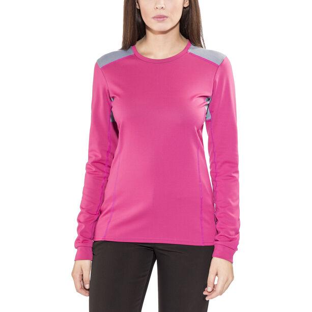 Norrøna Falketind Super Wool Shirt Damen Grafitti Pink