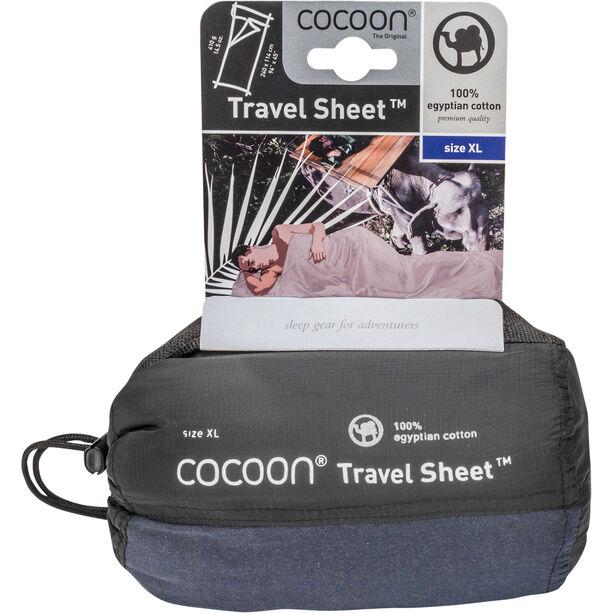 Cocoon TravelSheet Egyptian Cotton X-Large tuareg