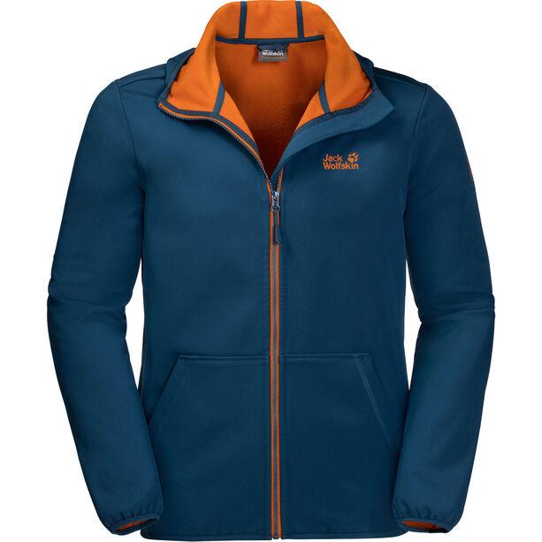Jack Wolfskin Essential Peak Softshell Jacke Herren poseidon blue
