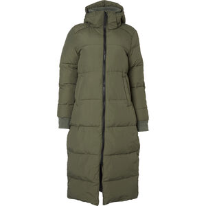 North Bend Puff Langjacke Damen green utility green utility