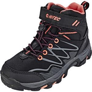 Hi-Tec Blackout Mid WP Shoes Mädchen black/pink black/pink