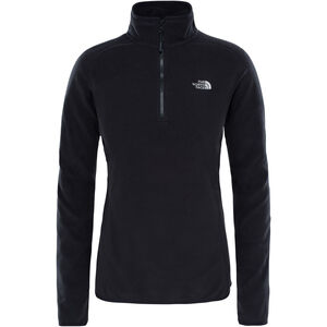 The North Face 100 Glacier 1/4 Zip Damen tnf black tnf black