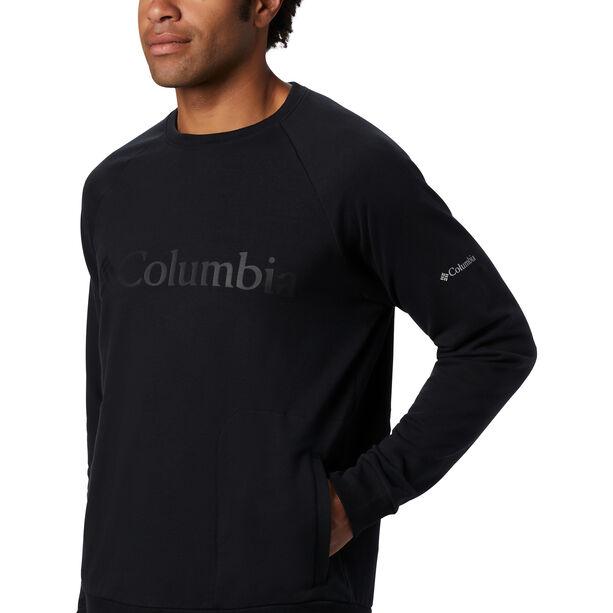 Columbia Columbia Lodge Rundhals-Pullover Herren black