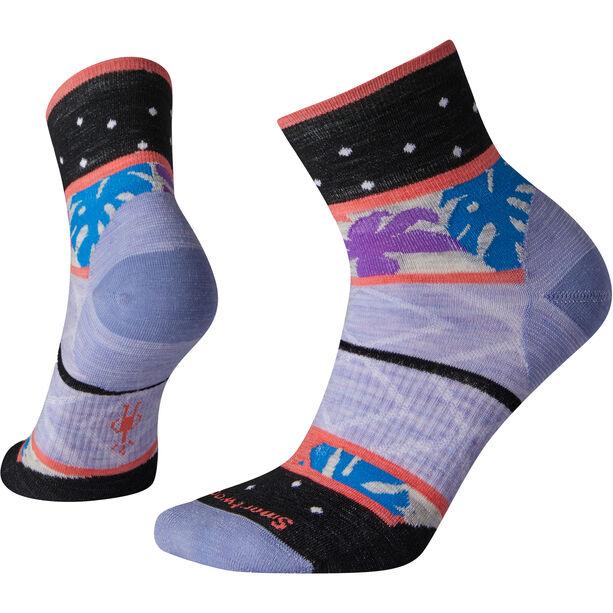 Smartwool Floral Dot Mini Boot Socken Damen purple mist