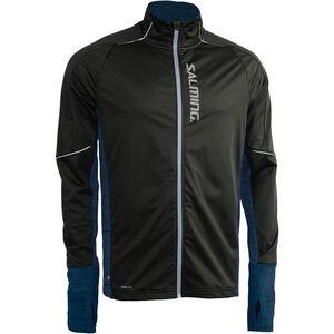 Salming Thermal Wind Jacket Men black/blue melange black/blue melange