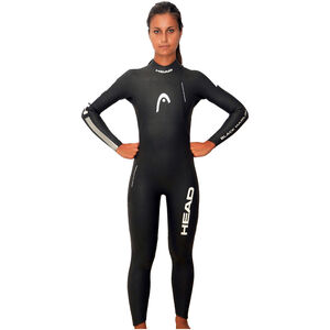 Head Black Marlin 4.3. 1,5 Tri Suit Damen black/silver black/silver