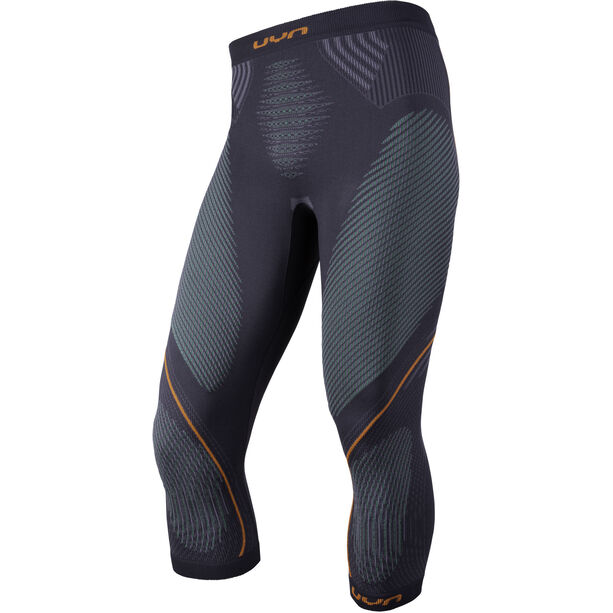 UYN Evolutyon UW Medium Pants Herren charcoal/green/orange shiny