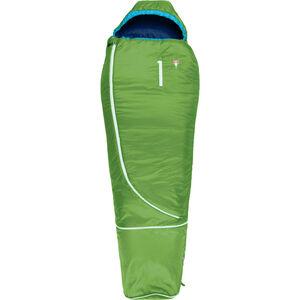 Grüezi-Bag Biopod Wool World Traveller Schlafsack Kinder holly green holly green