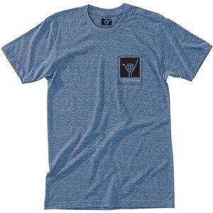 Hippy Tree Shaka T-Shirt Herren heather light blue heather light blue