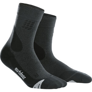 cep Dynamic+ Outdoor Merino Mid-Cut Socken Herren grey/black grey/black
