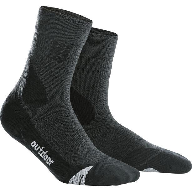 cep Dynamic+ Outdoor Merino Mid-Cut Socken Herren grey/black