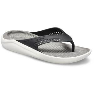 Crocs LiteRide Flip Sandals black/smoke black/smoke