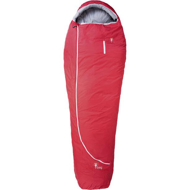 Grüezi-Bag Biopod Wool Zero Schlafsack Regular tango red