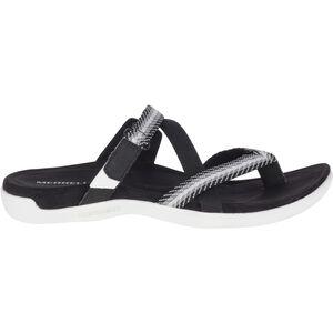 Merrell District Mendi Thong Slippers Damen black black