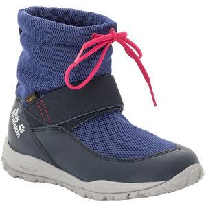 Jack Wolfskin Kiwi WT Texapore Mid-Cut Schuhe Kinder dark blue/red dark blue/red