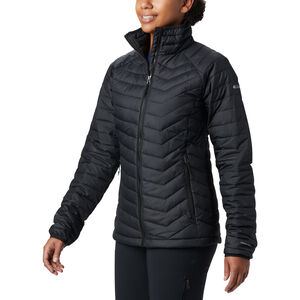 Columbia Powder Lite Jacke Damen black black