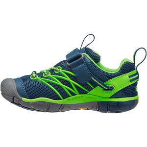 Keen Chandler CNX Shoes Kinder poseidon/jasmine green poseidon/jasmine green
