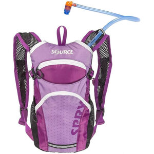 SOURCE Spry Trinkrucksack 1,5l Kinder purple purple