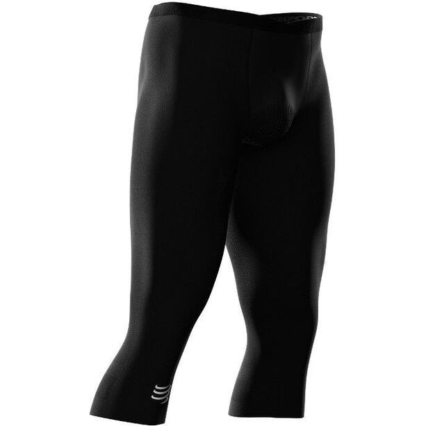 Compressport Trail Running Under Control 3/4 Pirate Pants Damen black