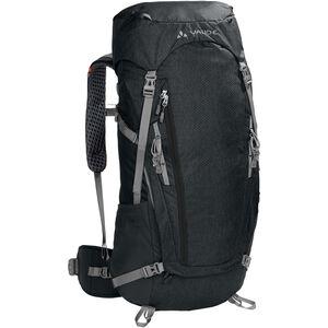 VAUDE Asymmetric 42+8 Backpack black black