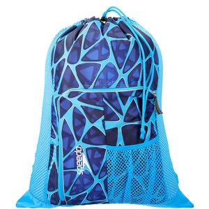 speedo Deluxe Ventilator Mesh Bag 35l cage blue cage blue