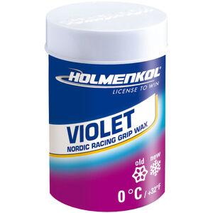 Holmenkol Grip Violet Grip Wachs 45g