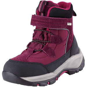 Reima Denny Winterstiefel Kinder dark berry dark berry