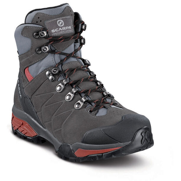Scarpa ZG Trek GTX Schuhe Damen titanium/red ibiscus