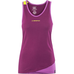 La Sportiva Dihedral Tank Damen plum/purple plum/purple