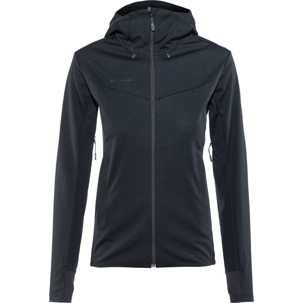 Mammut Ultimate V SO Kapuzenjacke Damen black-black