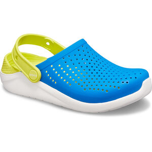 Crocs LiteRide Clogs Kinder bright cobalt/citrus bright cobalt/citrus