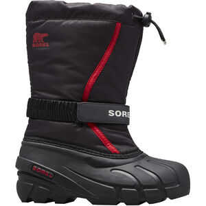 Sorel Flurry Stiefel Kinder black/bright red black/bright red